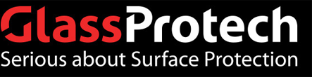 Glass Protech New Zealand, glass protection, surface protection, scratch removal, anti-graffiti, anti-break and scratch repair.